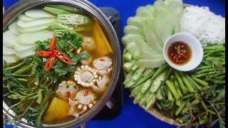 Cách làm LẨU HOA MỰC cực ngon và dễ - Món Ăn Ngon