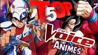Top 5 The Voice Animes - Assistir Animes Online