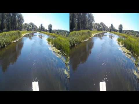 On Bridge ( First part ) ! Natural sounds of Nature  !  3D VIDEO