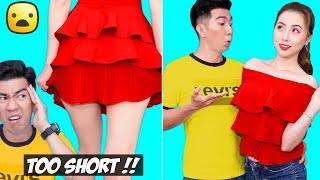 Girl DIY! 23 SUPER COOL CLOTHES HACKS FOR GIRLS   Smart DIY Clothing Hacks And Fashion Hack Ideas