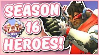 Overwatch - THE BEST HEROES FOR SEASON 16