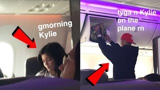 I met Kylie Jenner and Tyga on a Plane | STORYTIME (Receipts included!)
