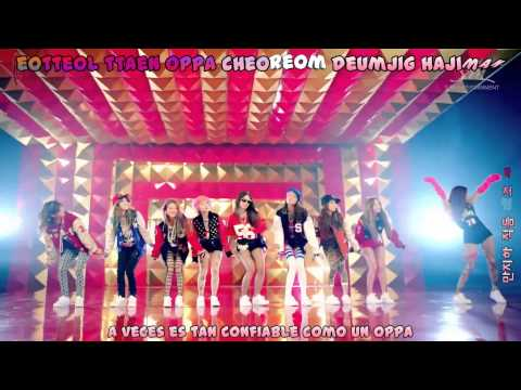 Girls Generation-I GOT A BOY MV [Sub Español+Hangul+Romanización+KARAOKE]
