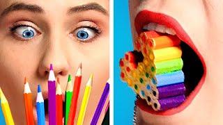 WOW! 10 BACK to SCHOOL DIY School Supplies and School Hacks by Crafty Panda