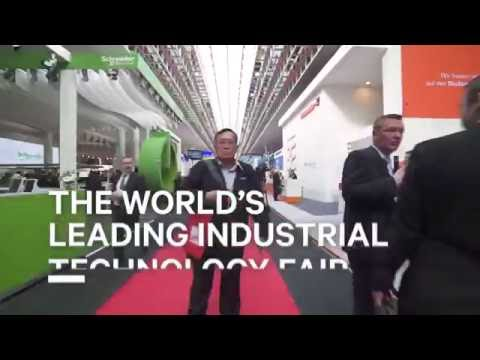 Schneider Electric's unveiling of Masterpact MTZ at Hannover Fair