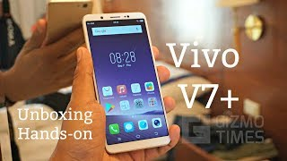 Vivo V7+ Unboxing, Hands on, Camera Features [Vivo V7 Plus]