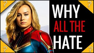 Why do people Dislike Captain Marvel so much