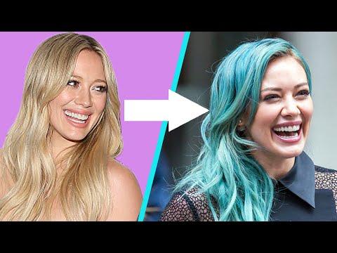 14 Celebs Rocking Badass Colorful Hair
