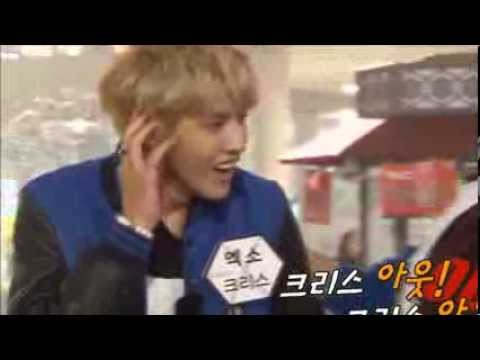 [EXO] Kris Funny Moment in Running Man (131110)