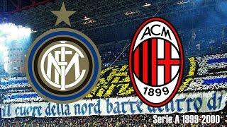 FC Internazionale vs AC Milan - Season 1999/2000 (Partido Completo/Full Match)