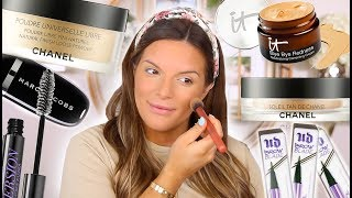 MY EASY EVERYDAY MAKEUP ROUTINE FOR OILY SKIN! NO FOUNDATION  | Casey Holmes