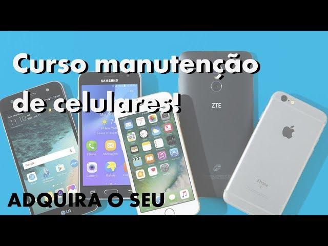 GANHE DINHEIRO CONSERTANDO SMARTPHONES! Adquira o curso de manutenção de celulares!