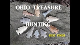 Ohio Treasure Hunting BEST FINDS Edition ARROWHEAD Coins Discovery Channel Antiques Roadshow