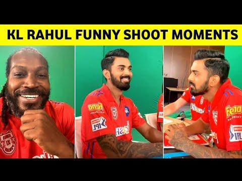 Kl Rahul & Chris Gayle funny shooting moments- IPL funny moments