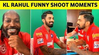 Kl Rahul & Chris Gayle funny shooting moments- IPL fun..