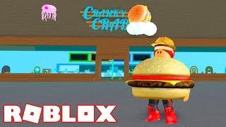 Roblox → VIREI O MASCOTE DO SIRI CASCUDO !! - Fast Food Simulator 🎮