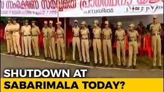 Sabarimala set to open for women today, Kerala on edge..