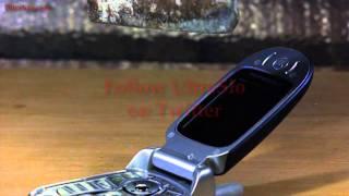 携帯電話破壊