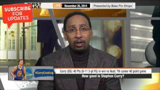 First Take - How Good is Stephen Curry?