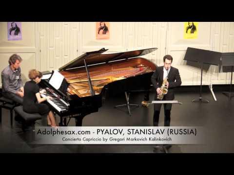 Dinant 2014 - STANISLAV, PYALOV Concierto Capriccio by Gregori Markovich Kalinkovich