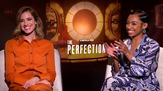 Allison Williams & Logan Browning on THE PERFECTION - Now on Netflix