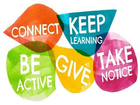 5 Ways To Wellbeing - Part 1 of 3