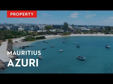 Azuri - Mauritius - Exploring the ocean river by drone