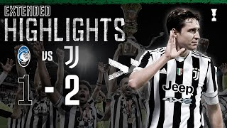 Atalanta 1-2 Juventus | Kulusevski & Chiesa Score to Secure 14th Coppa Italia! | EXTENDED Highlights