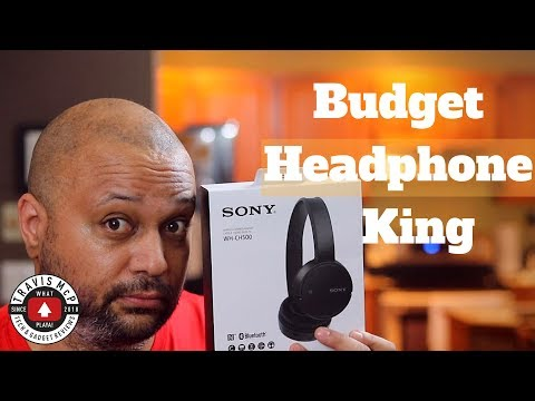 video SONY WH-CH500 Wireless Headphones