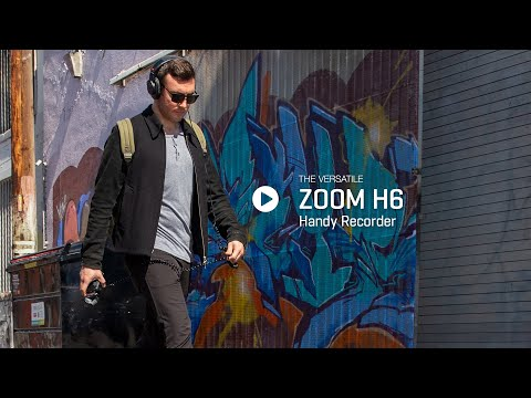 video ZOOM H6 Handy Recorder