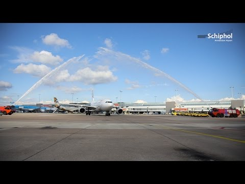 China Eastern Airlines new at Schiphol