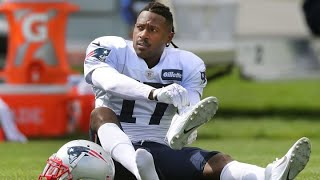 Football player Antonio Brown dropped from Patriots over rape allegations