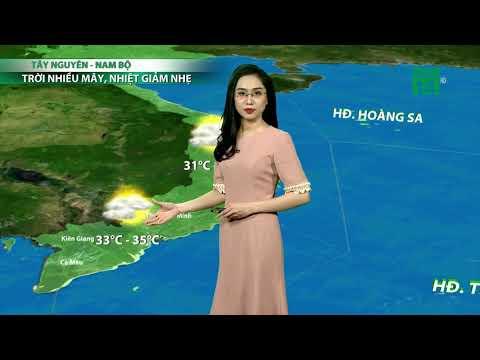 VTC14 | Thời tiết tổng hợp 19h 13/05/2018| Bắc Bộ dứt mưa, trời chuyển nắng mạnh