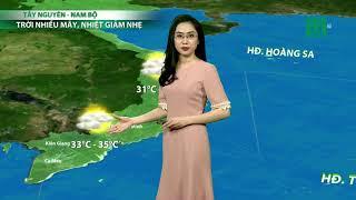 VTC14   Thời tiết tổng hợp 19h 13/05/2018  Bắc Bộ dứt mưa, trời chuyển nắng mạnh