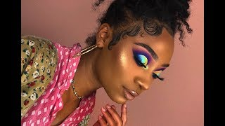 Ombre Half Cut Crease Makeup Look | MakeupTiffanyJ