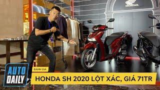 BOM TẤN Honda SH 2020 LỘT XÁC với hàng tá công nghệ, giá từ 71 triệu đồng