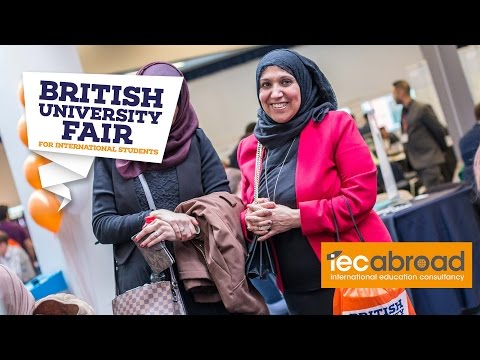 "The British University Fair April 2016 - ""A Really Good Opportunity"""