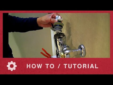 American Standard How to Replace the Valve Piston in Selectronic Flush Valve