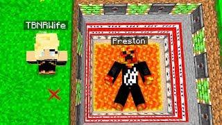 MY WIFE TROLLED ME IN MINECRAFT! (PrestonPlayz vs PrestonPlayz Wife)