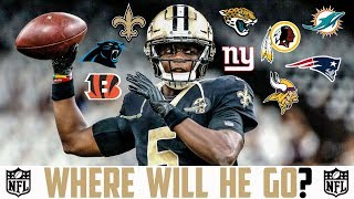 2019 NFL FREE AGENCY PREDICTIONS Teddy Bridgewater Saints Dolphins Panthers Vikings Bengals Redskins