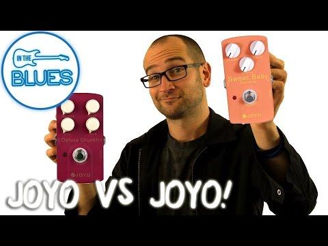 Joyo Deluxe Crunch vs Joyo Sweet Baby Overdrive Pedal