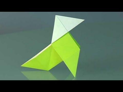 une cocotte en papier comment faire origami youtube. Black Bedroom Furniture Sets. Home Design Ideas