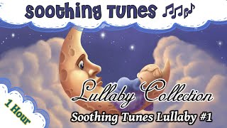 1 Hour of music to put your baby to sleep  ♫♫ Soothing Tunes Lullaby #1 ♫♫  relax kids