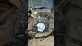 Cara repair motor fan myvi..hanya tukar carbon sahaja