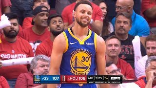 GS Warriors vs Houston Rockets - Game 3 - May 4, Full 4th Qtr   2019 NBA Playoffs