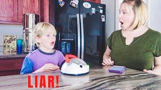 I Gave My Kids A Lie Detector Test (HILARIOUS!)