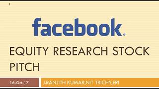 FB Stock pitch-ERI,Mentored Research