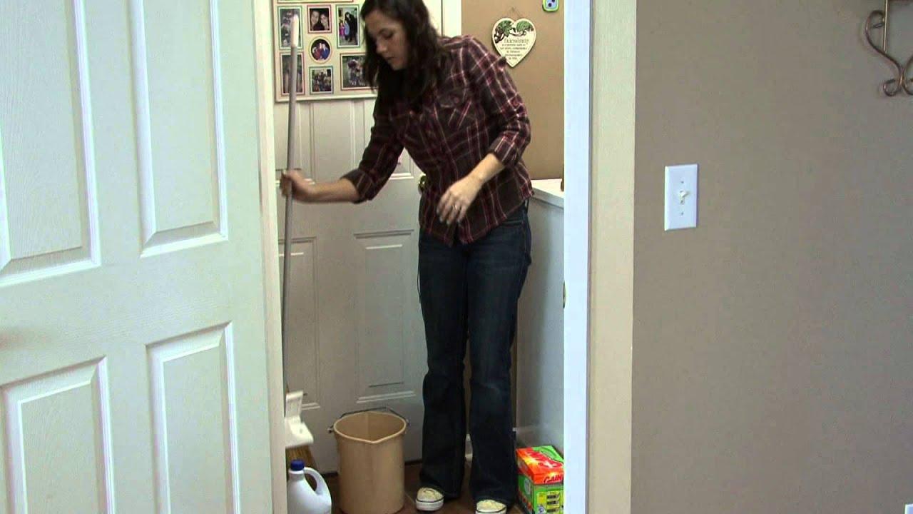 Housekeeping Tips How To Clean Vinyl Floors Youtube