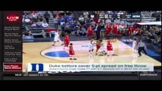 RJ Bell on SportsCenter - Duke vs Utah Ending