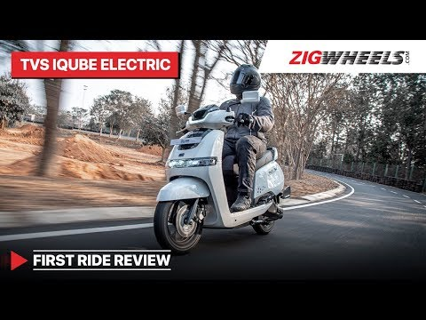 TVS iQube Electric Scooter First Ride Review | As Solid As Other TVS Scooters?